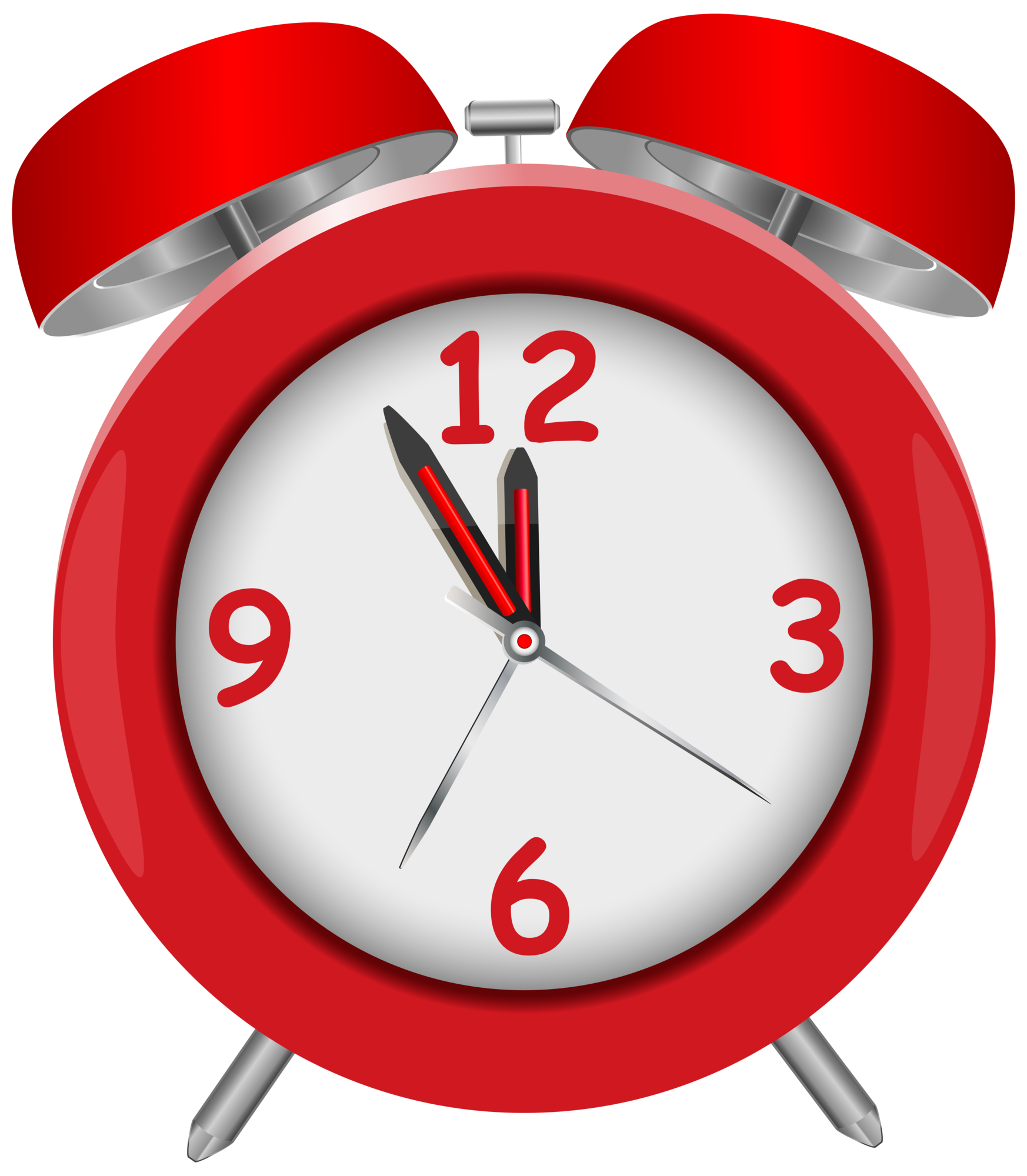 red alarm clock red png clip art rh clipart info clip art clocks free clip art clocks free