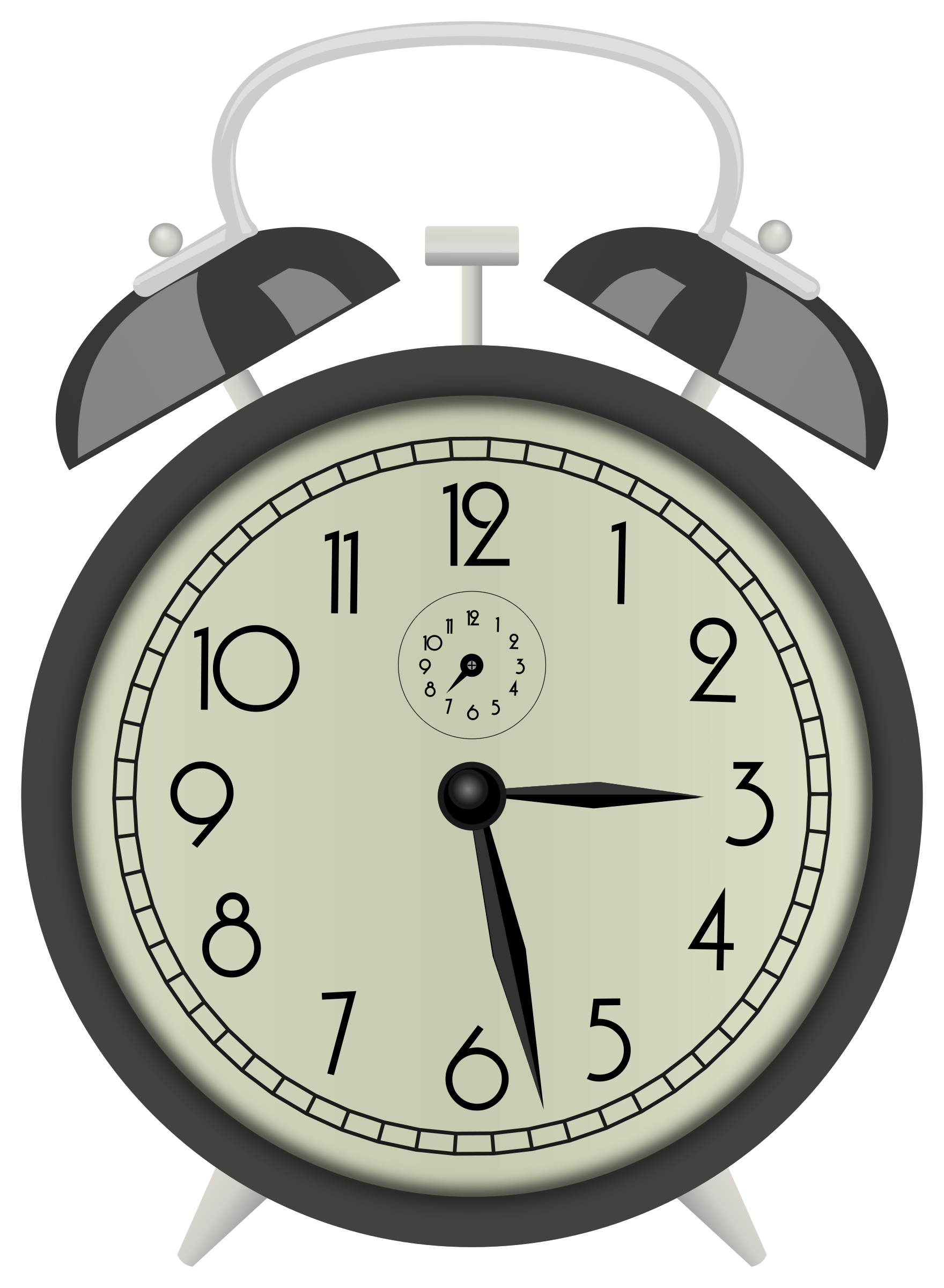 Paris Clock Alarm Old Fashion Png
