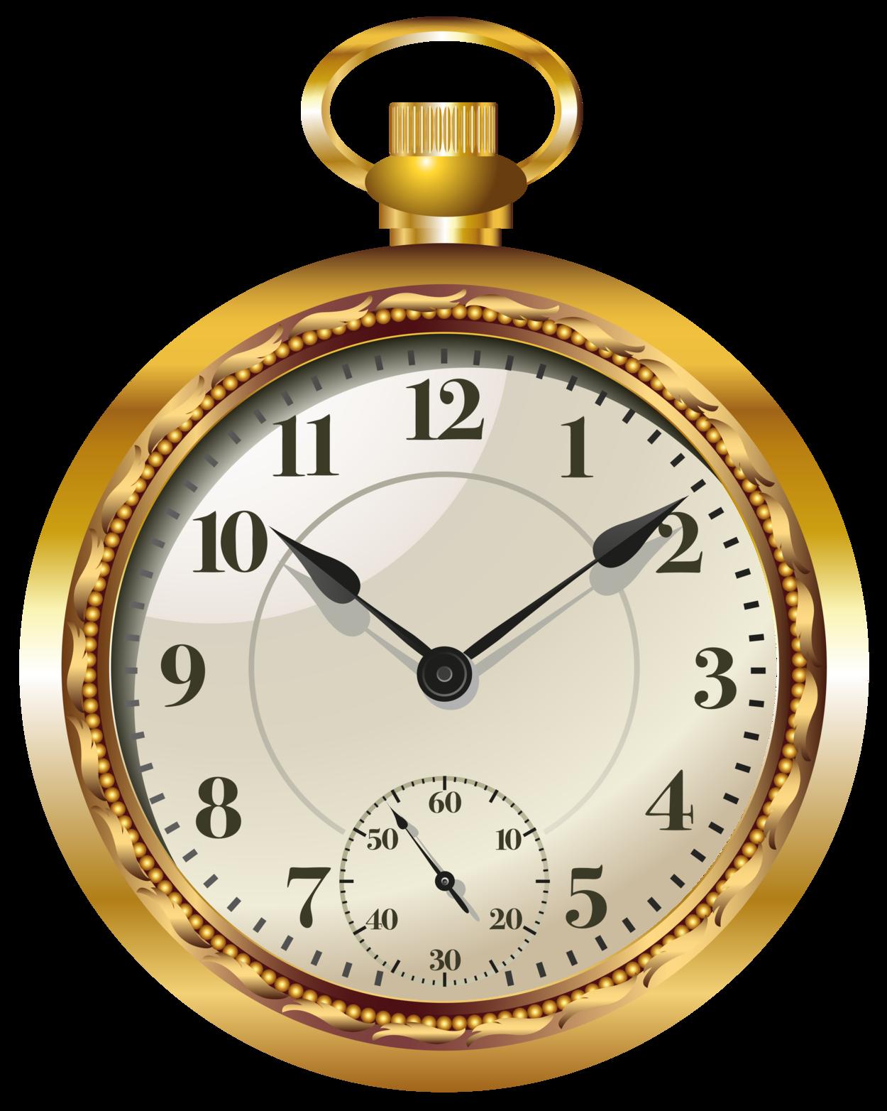 pocket watch clock png clip art