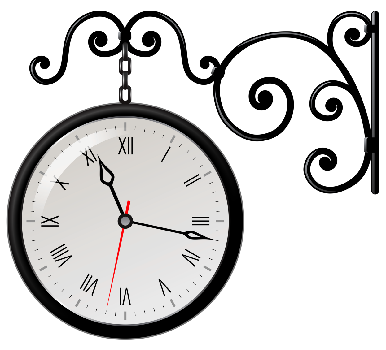 Clock PNG Clip Art for Street Clipart Png  45hul
