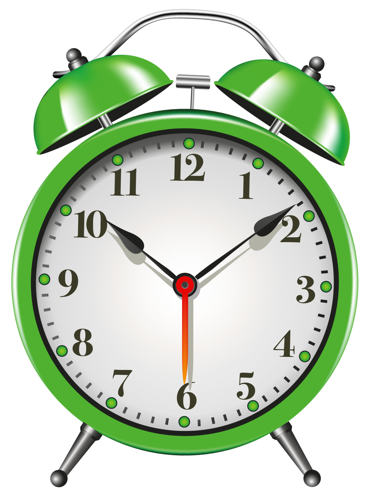 green alarm clock png clip art rh clipart info clock face clipart clipart of clock hands