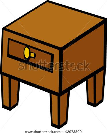 clip art night stand nightstand furniture table 0q9gfz clipart