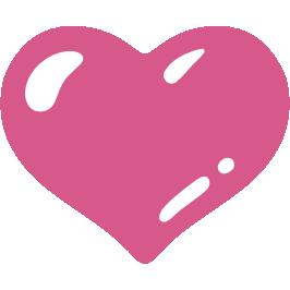emoji android purple heart