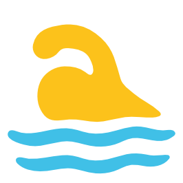 emoji android swimmer