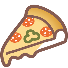 emoji android slice of pizza