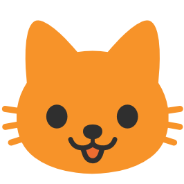 emoji android cat face