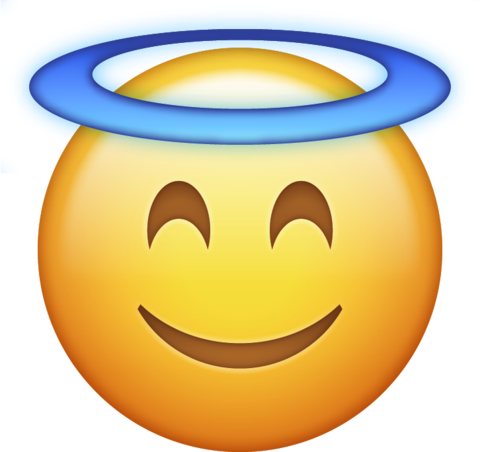 Angel Halo Emoji Png Icon