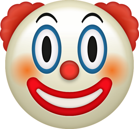 Emoji Clown Emoji png transparent