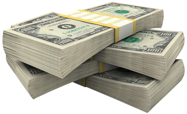 Bundles Of Dollars PNG Clipart Picture