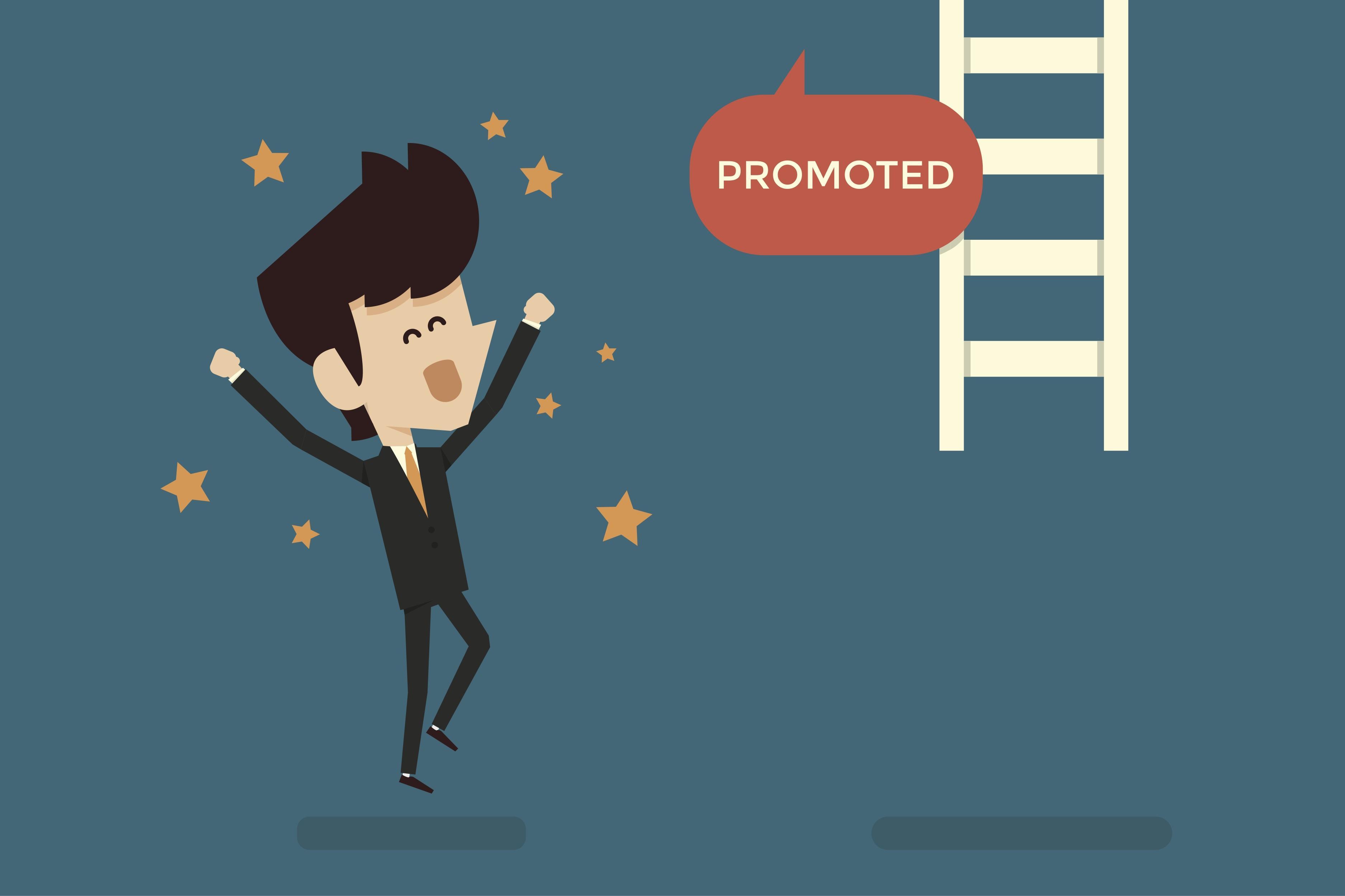 job promotion postpromotions clip art