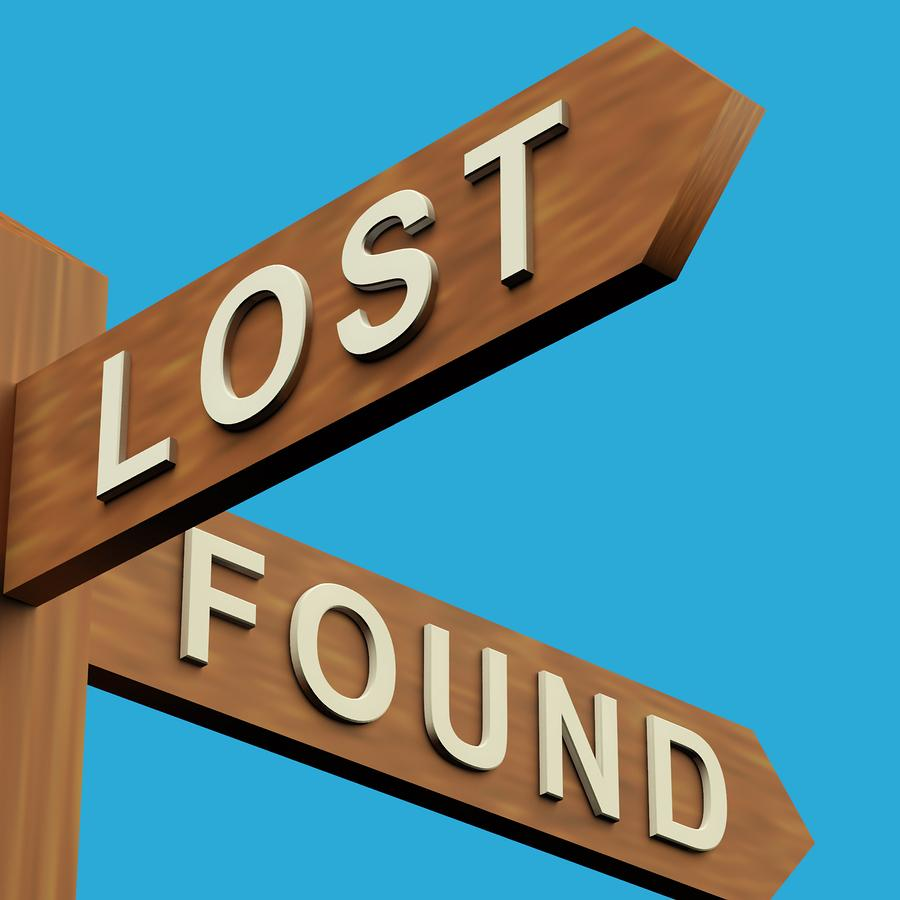 sign lost and found clipart rh clipart info lost and found box clipart lost property clipart