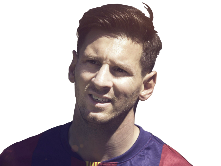 messi png face fcb