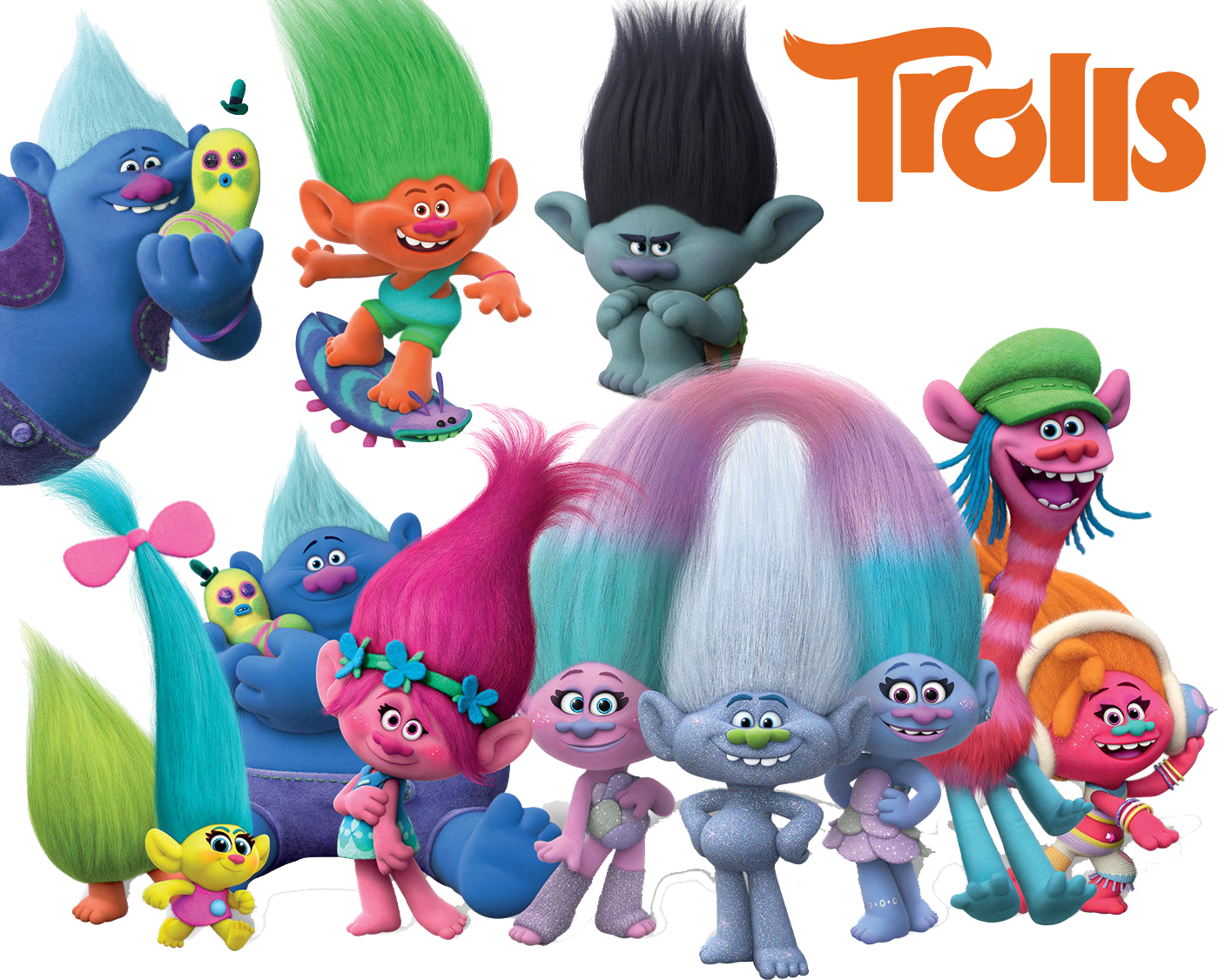 trolls png best collection