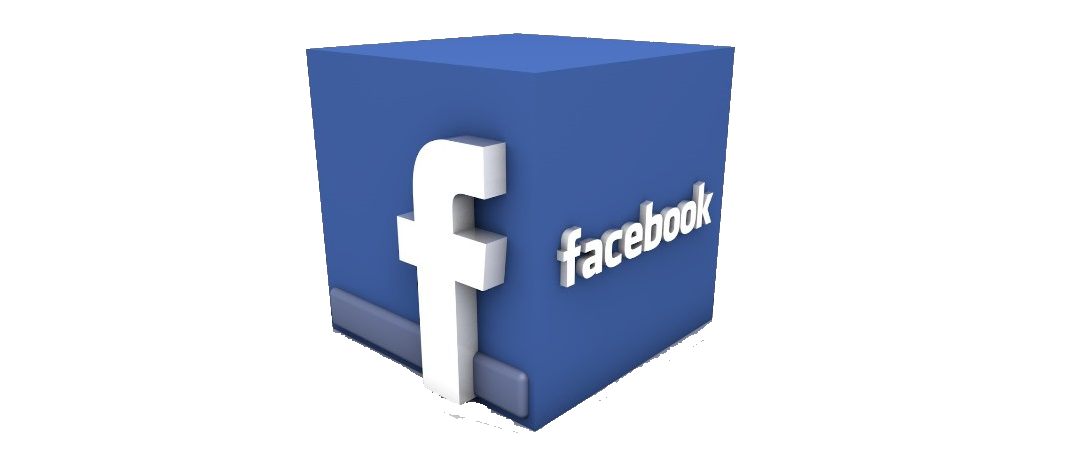 Facebook Clipart Box 3d