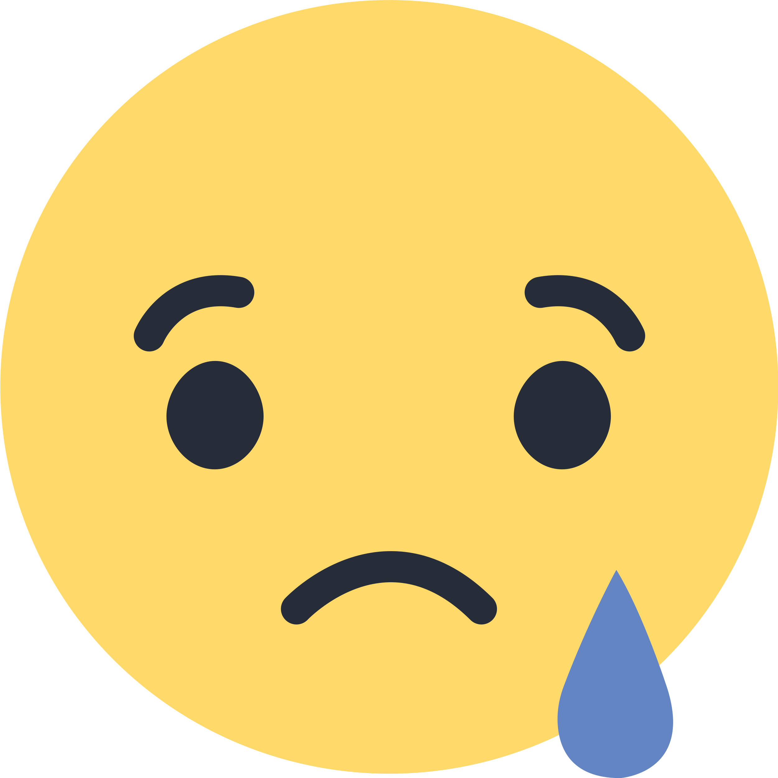 Facebook Sad Emoji Like Png Sad Emoji