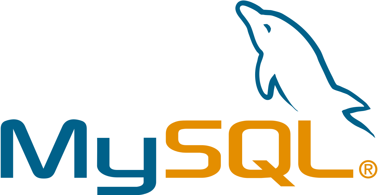 mysql logo png transparent rh clipart info Oracle Database MySQL Code