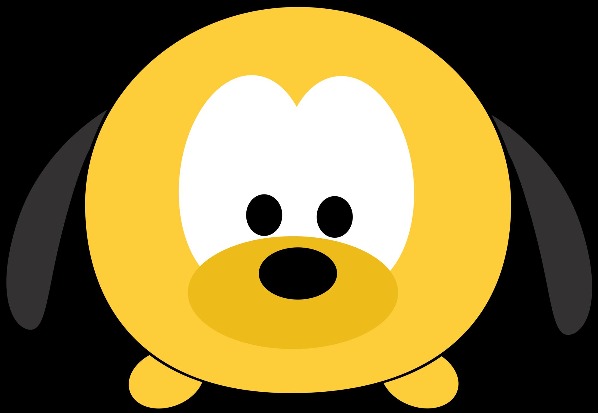 Disney Tsum Tsum Clipart Pluto