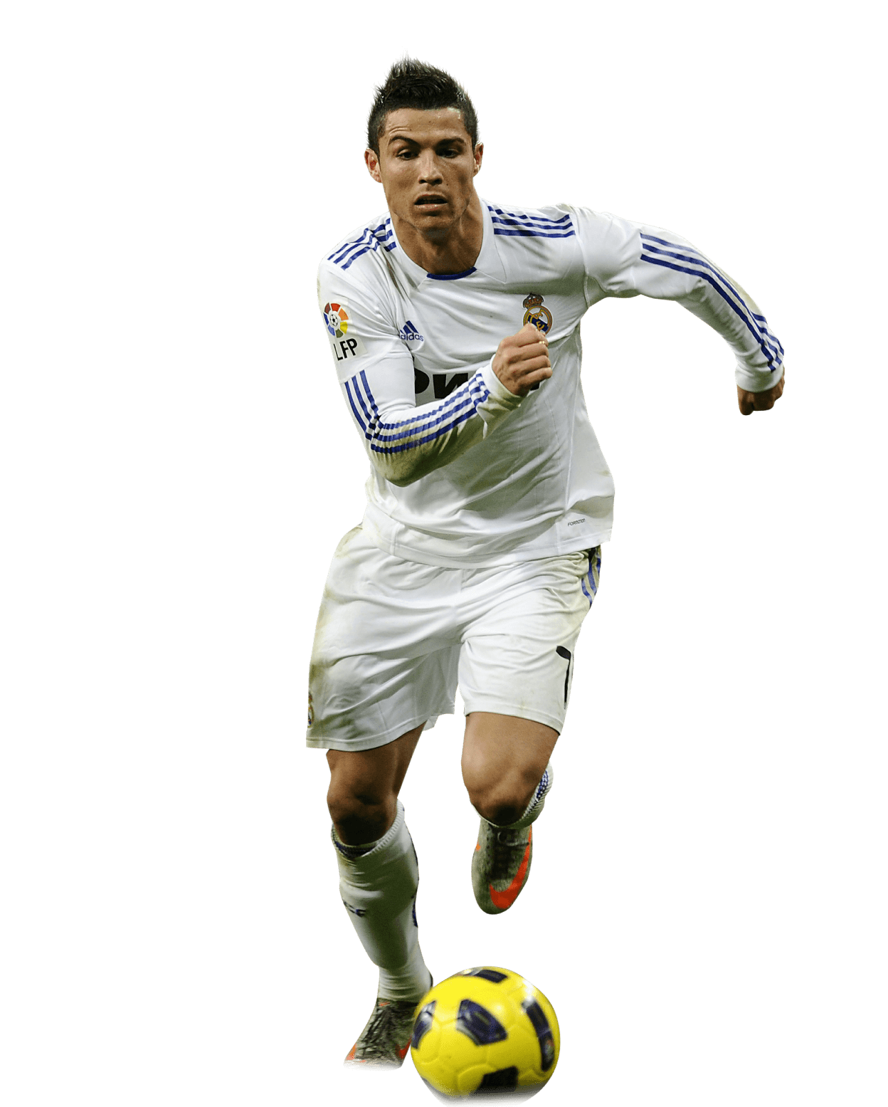 Ronaldo Transparent Png 2017 with ball