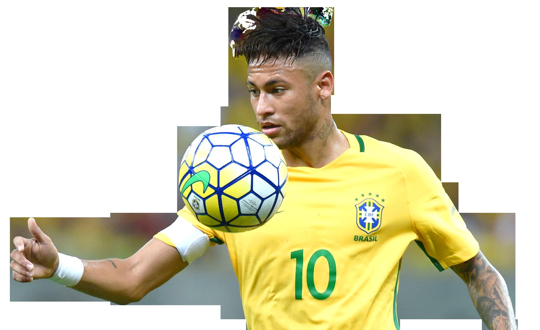 Neymar PNG Image Brasil CBF Team