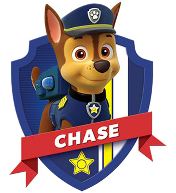 paw patrol clip art chase head paw patrol badge