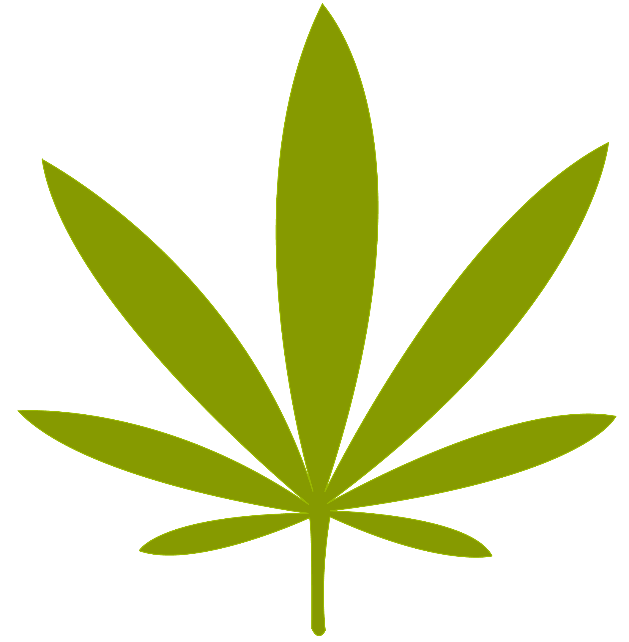 weed leaf png file simple marijuana leaf rh clipart info