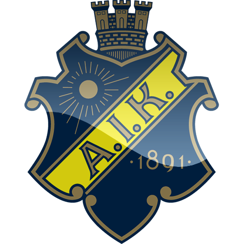 aik solna football logo png