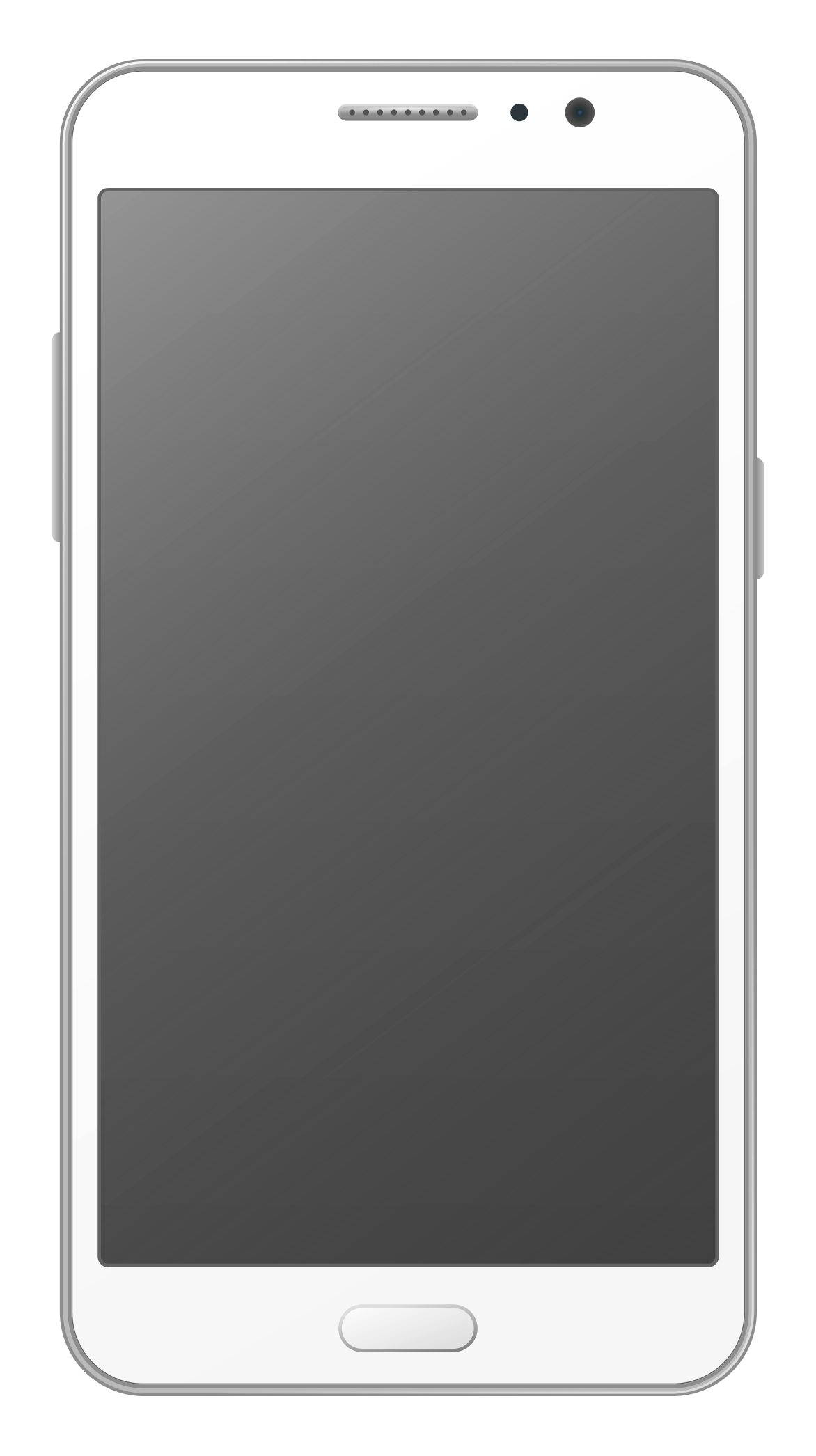 Smartphone Vector Mobile Png Transparent Image