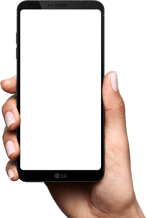 Lg G6 Hand Mobile Png