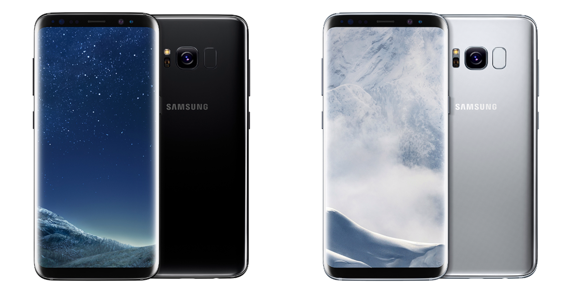 Galaxy S8 Plus Mobile Png Transparent Background