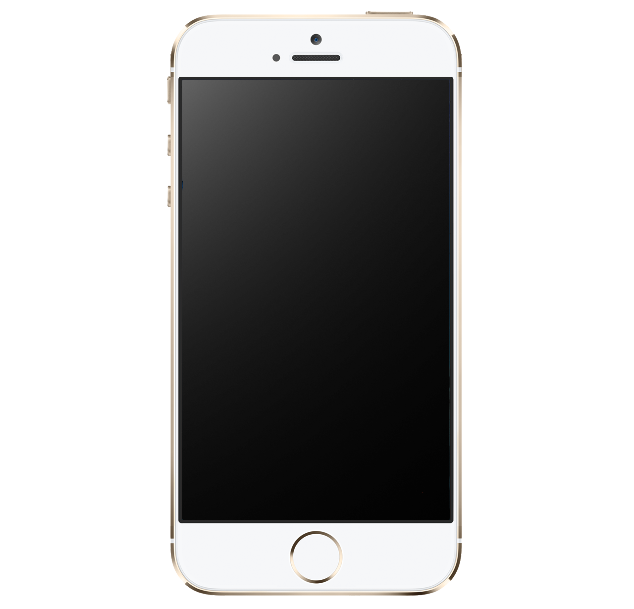 iphone png image gold