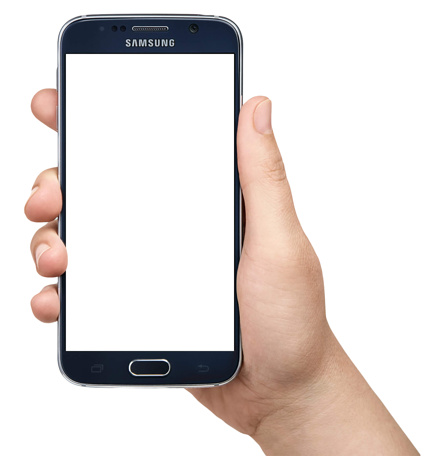 Hand Holding Smartphone Mobile Png Image1