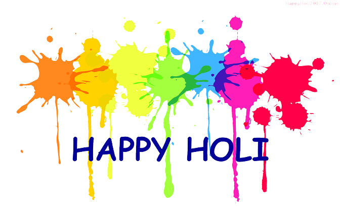Happy Holi 2017 Png