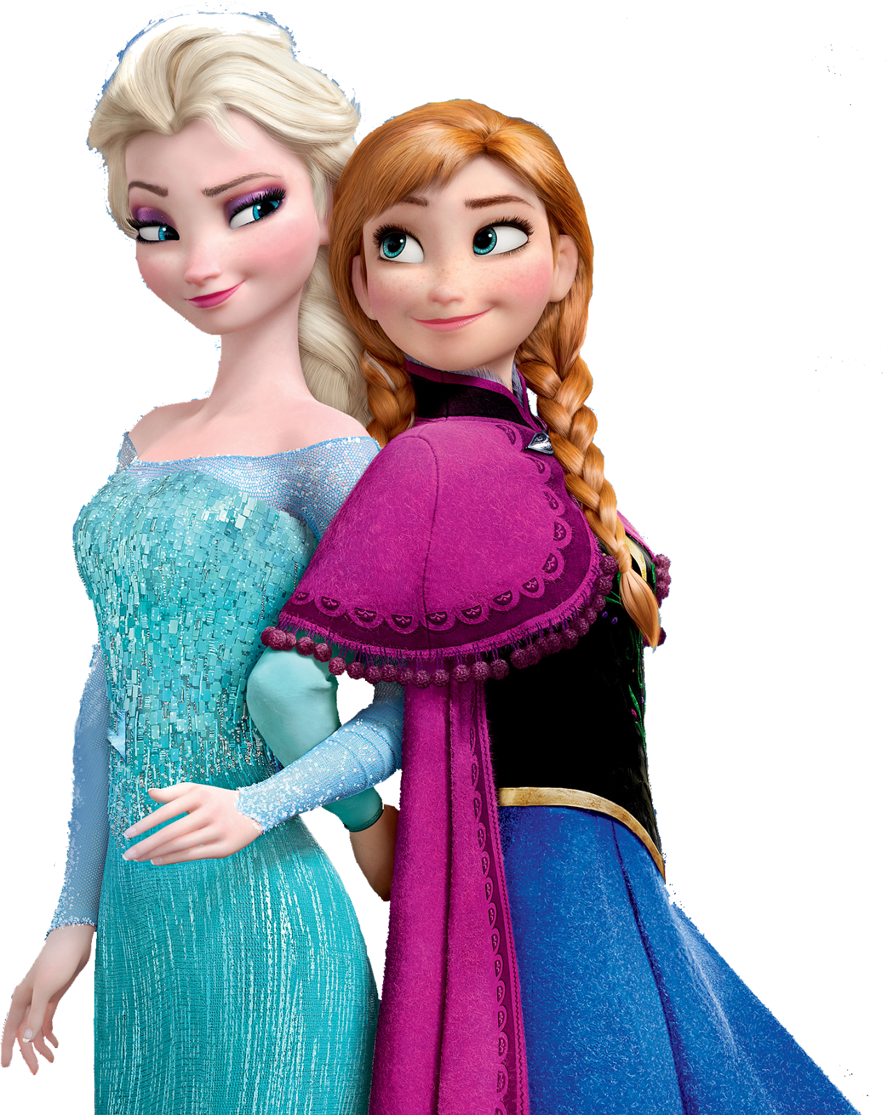 Frozen Anna and Elsa PNG Picture