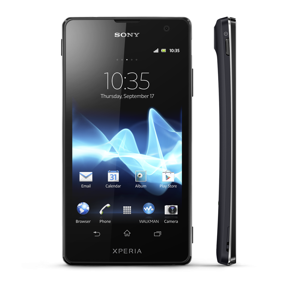sony smartphone mobile png