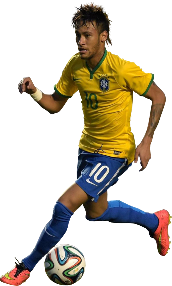 neymar brazil png with ball