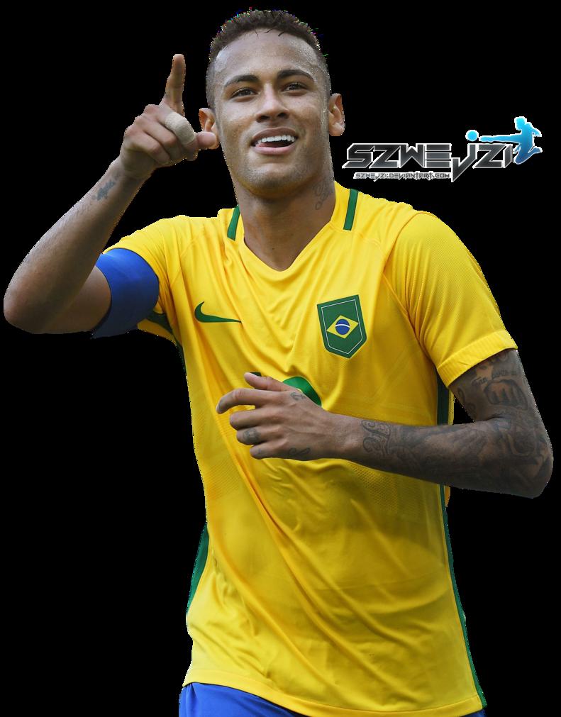 Neymar Brazil Png Happy