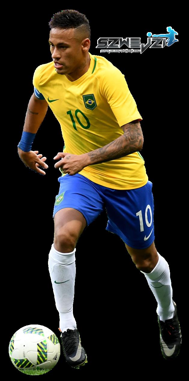neymar 10 png brazil soccer player clipart image png soccer player clipart image png