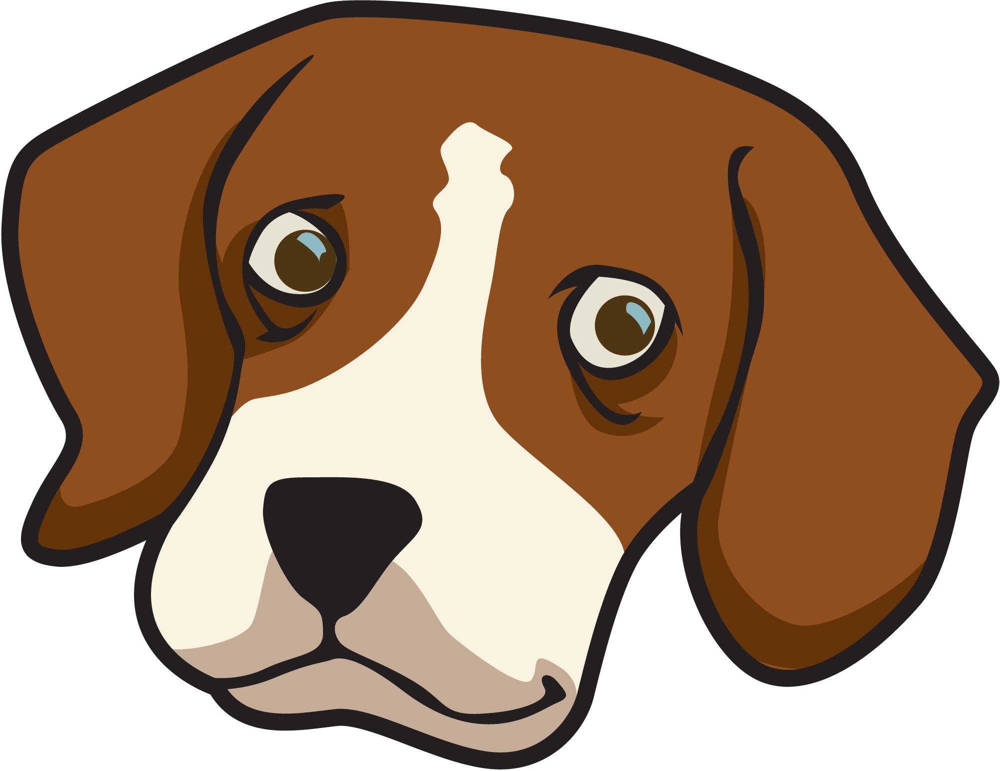 dog face clipart rh clipart info sad dog face clipart dog face mask clipart