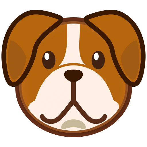 dog face png clipart Animated Glitter Graphics Thank You animated thank you clipart