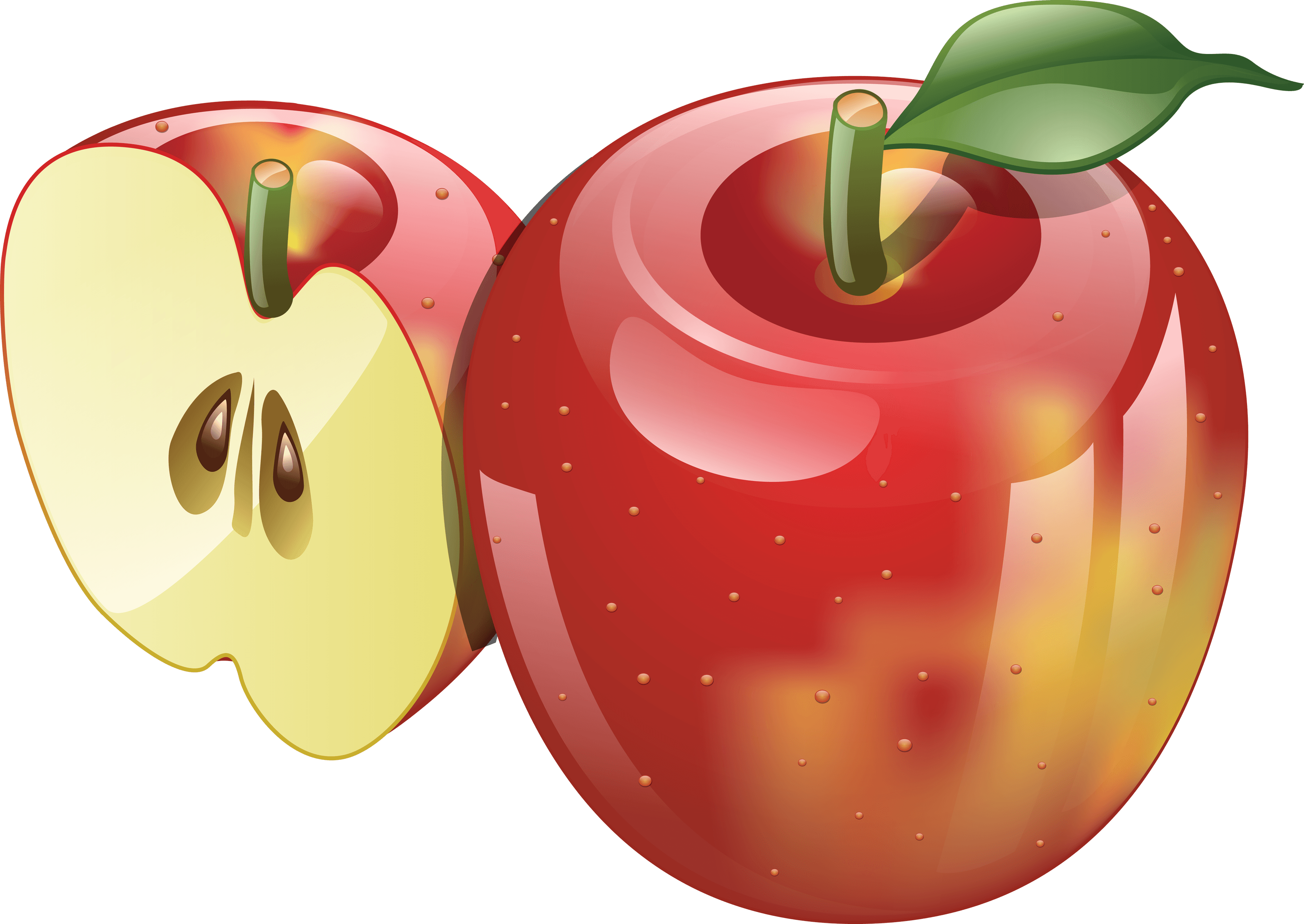 45 red apple png image