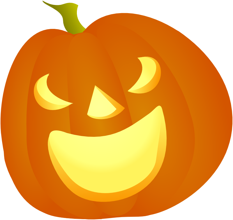 Halloween Pumpkin 2d Png Simple