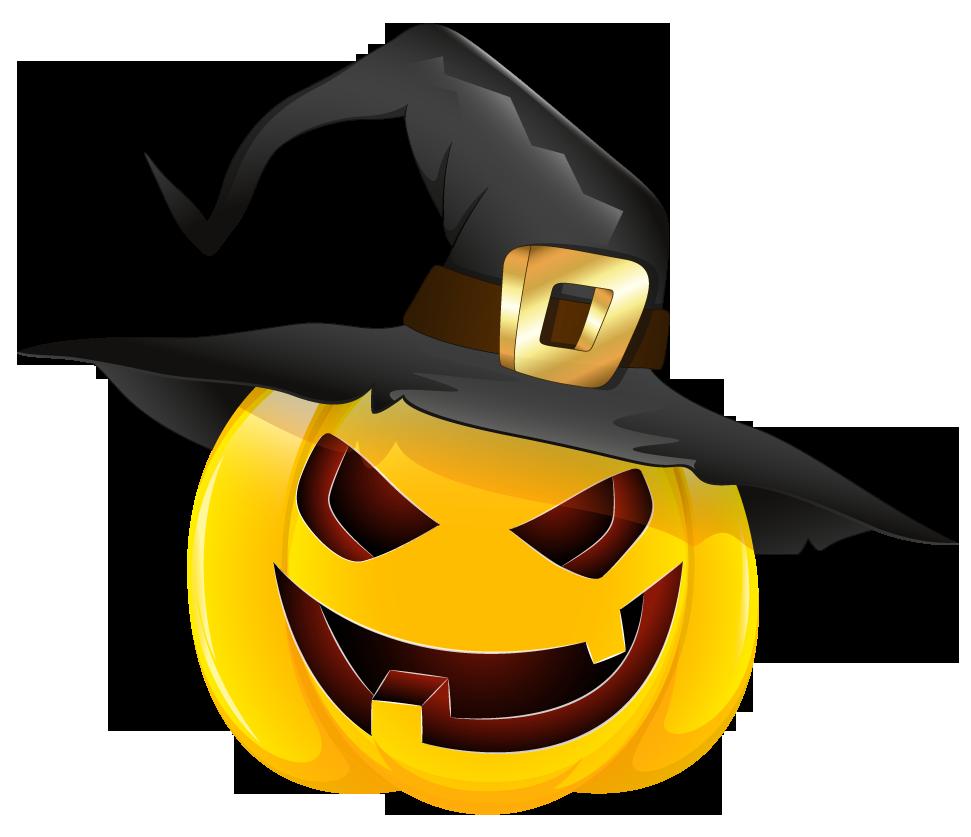 Halloween Pumpkin Png Clipart.Halloween Pumpkin Png Black Hat Clipart 29