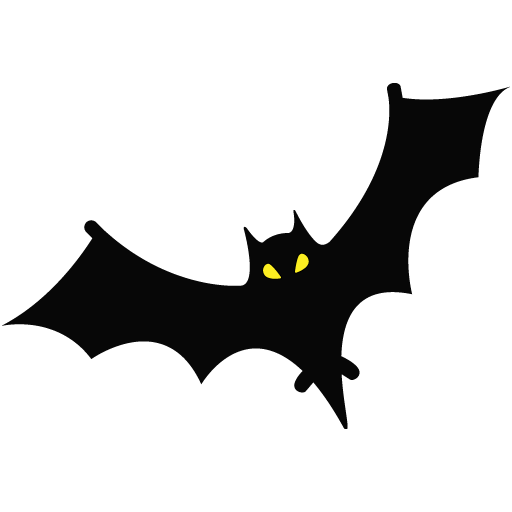 6 2 halloween bat png picture