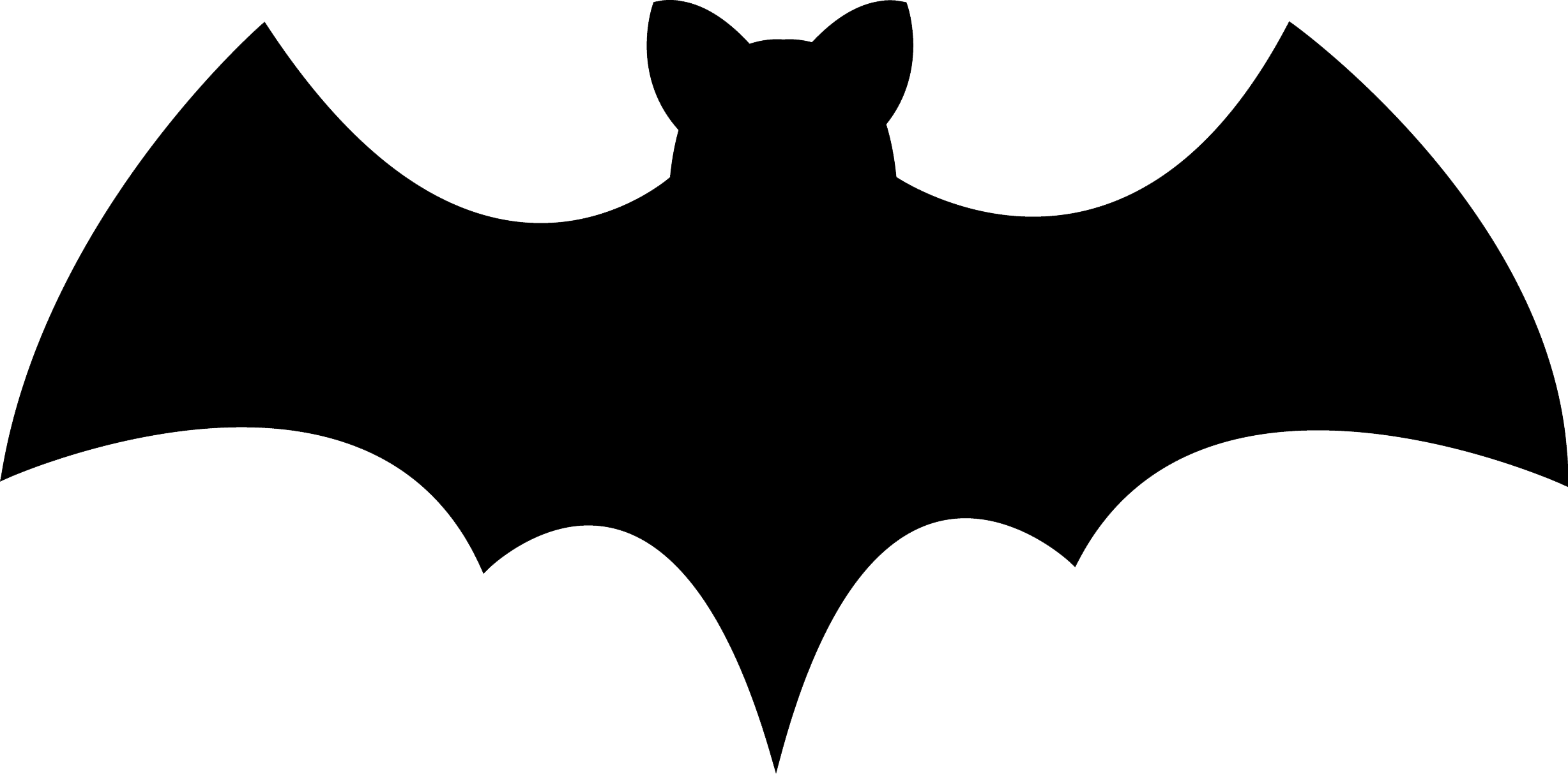 Bright image throughout printable bats