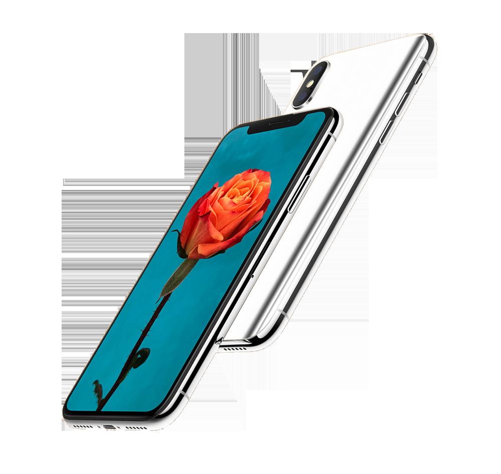 iphone transparent background