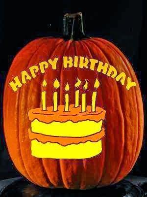 October Birthday Clip Art Halloween Birthday Images