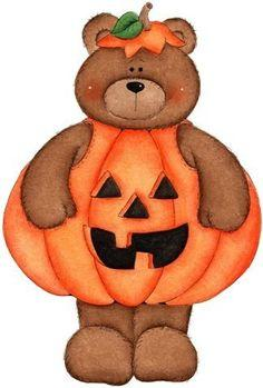 Teddy bear halloween clip art on clip art scarecrows and picasa