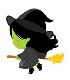 Witches clip art and halloween on 2