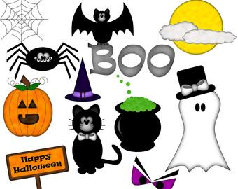 Free halloween happy halloween clipart free large images clipartwiz 2