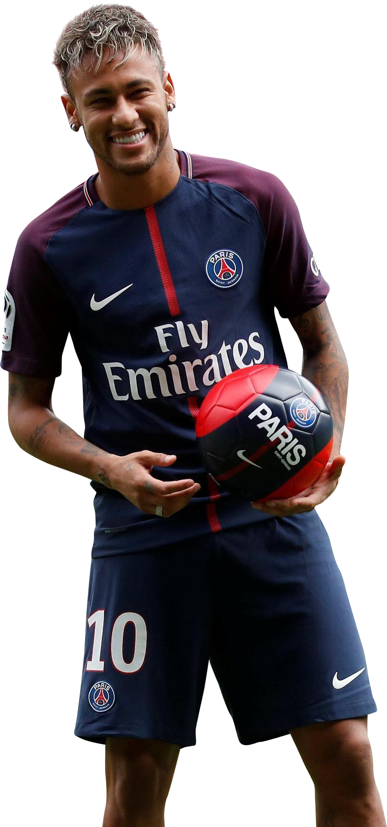 Neymar PSG 2017 Happy
